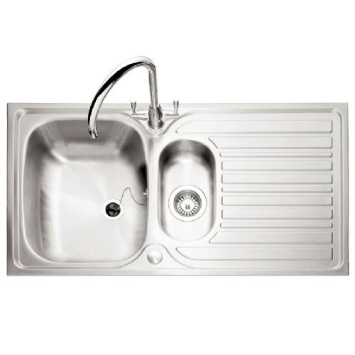 Caple Crane 151 Stainless Steel Inset Kitchen Sink